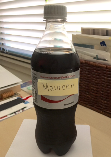 2017 Diet Coke Maureen